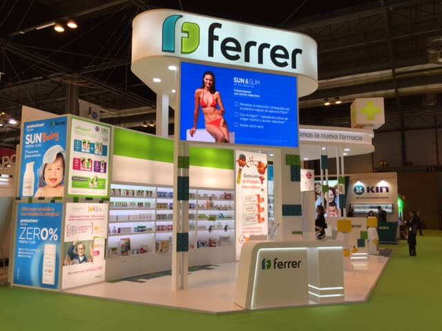 Ferrer's Stand at Infarma Madrid 2016 is emission neutral