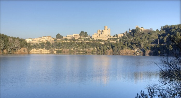 Abertis Foundation reduces the environmental impact of Castell de Castellet