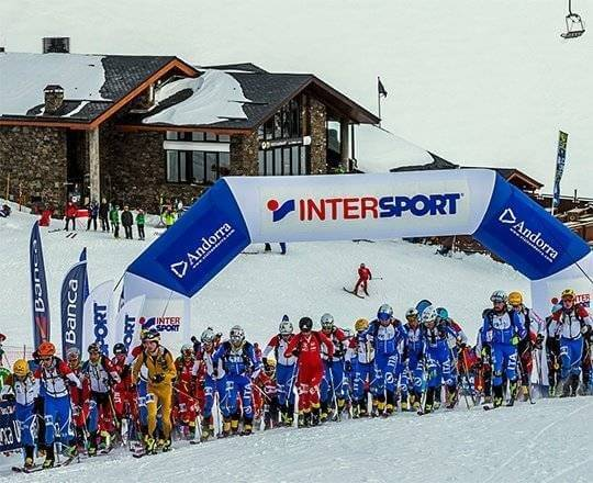La Font Blanca, a ski race committed to the fight against climate change
