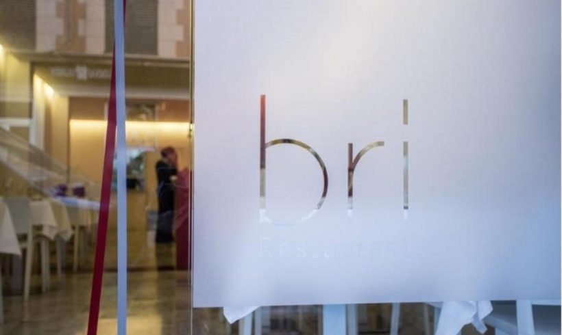 The BRI Restaurant offers innovative and sustainable gastronomy